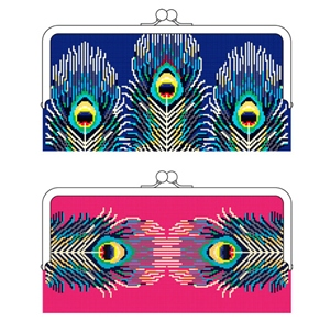 Peacock Clutch Bag Kit