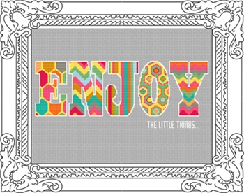 Enjoy The Little Things PDF Chart
